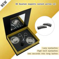 Inquiry for wholesale New magnetic lash 8D Quantum Magnetic Eyelash Partner set Quantum soft magnetic lashes with  Magnetic Eyelash Curler Magnetic Lashes Clip XJ32
