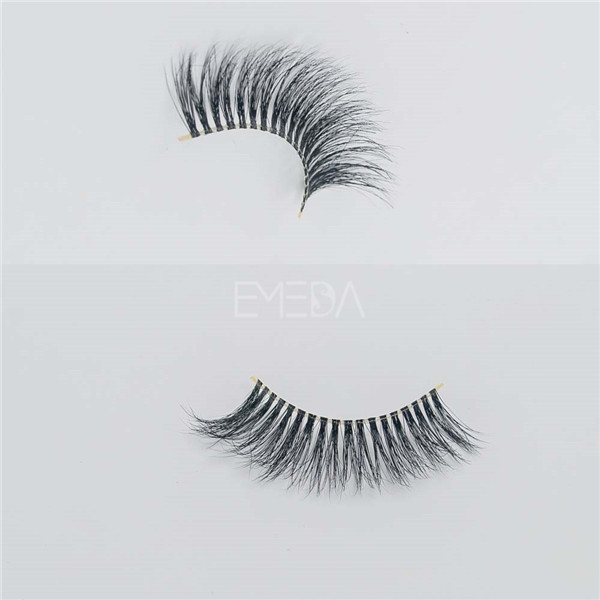 Best fake lashes 3D Mink permanent lashes E17