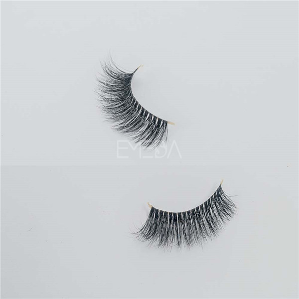 Best false lashes 3D mink fur material E18
