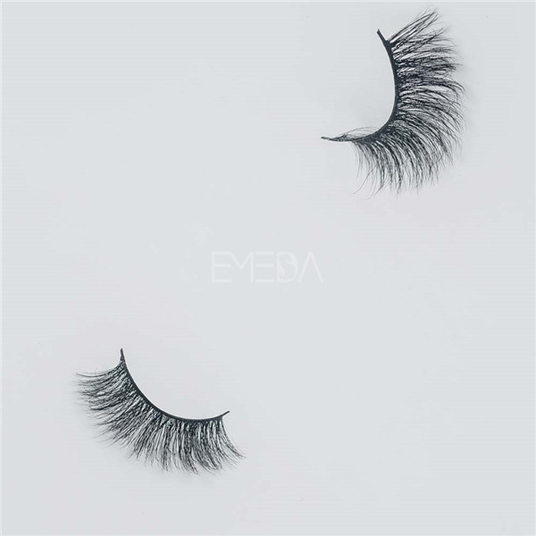 Best fake eyelashes 3D real mink fur lashes E13