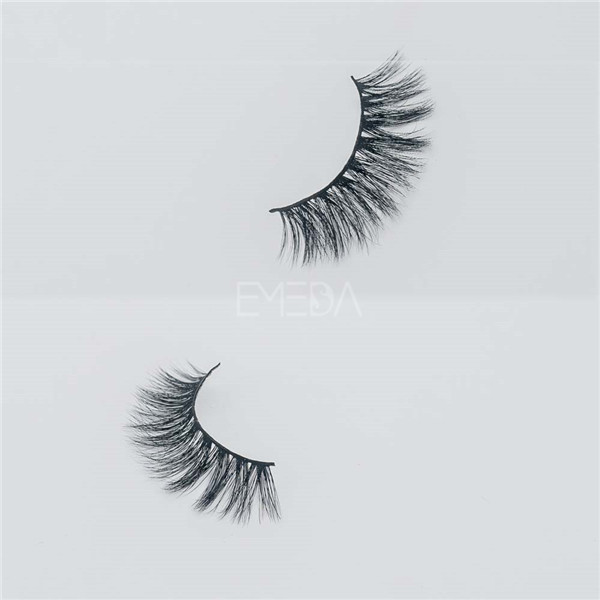 Super 3D effect mink eyelashes private label E14