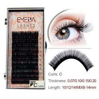 Professional eyelash extensions single lash JH58