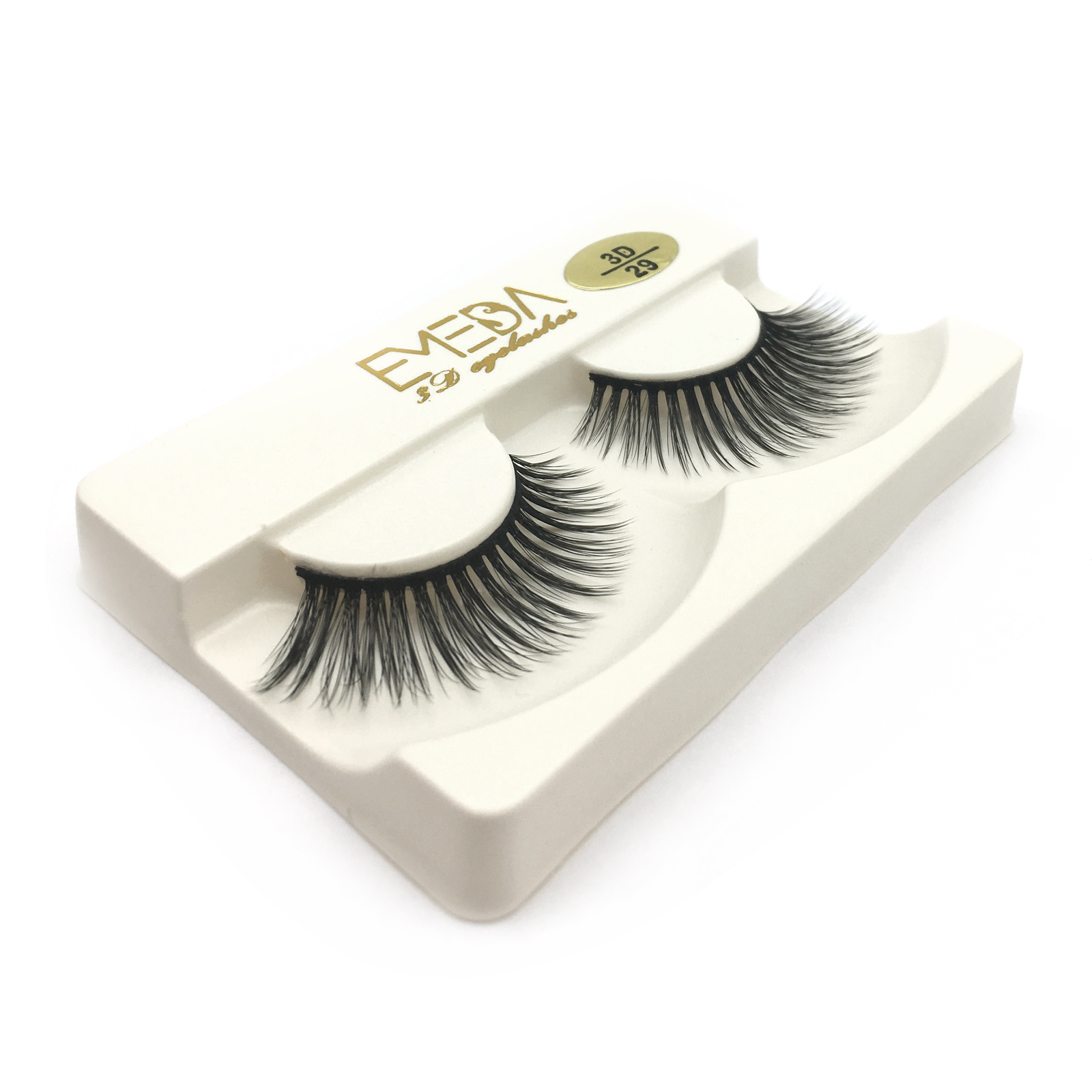3D Faux mink eyelash strip lash JE50