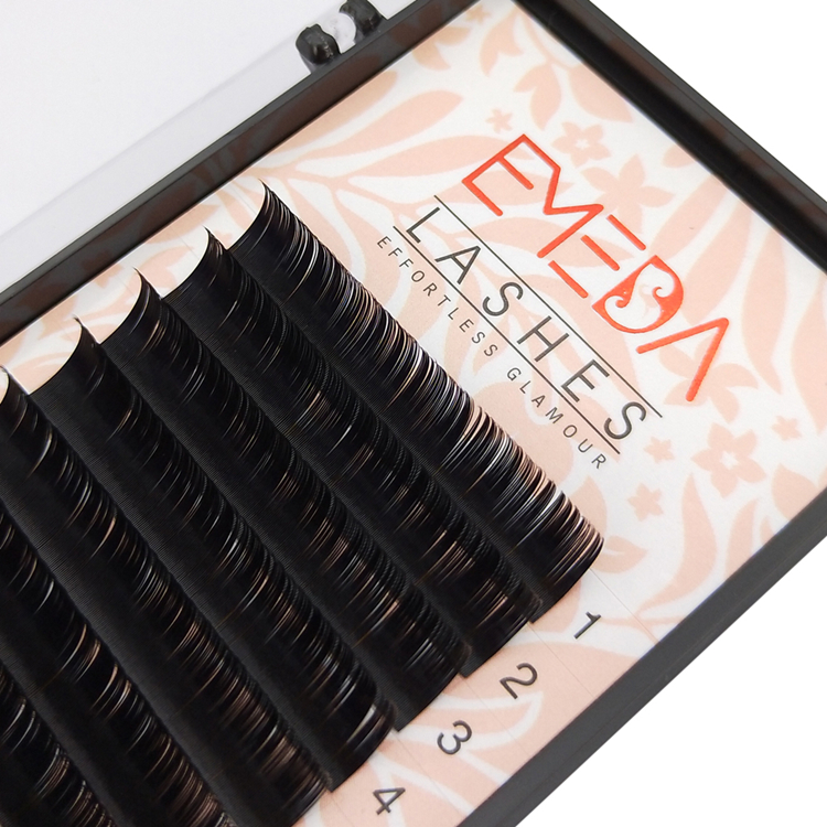 Professional single lash extensions products used best materials EL-PY1