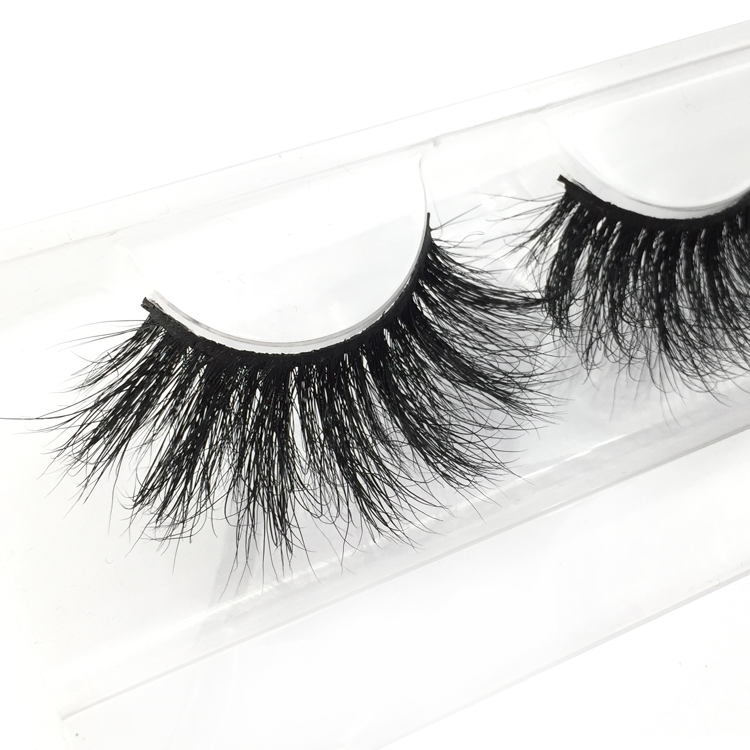 Mink Lashes cruelty 25mm Long Fluffy Lashes  YL01
