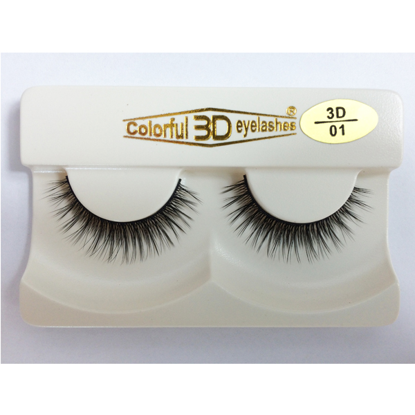 bright and sex eye with 3D silk eyelashes E04