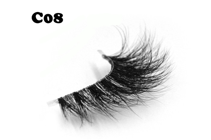 Wholesale top quality 3D mink eyelashes YP47