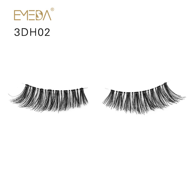Luxury Handmade Human Hair Eyelashes SW-PY1
