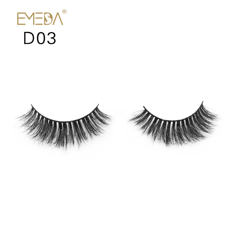 3D Mink Eyelashes,Strips Individual Mink Eyelash Private Label YH013