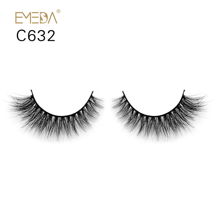 Gorgeous 3D mink fur eyelashes  USA JH64