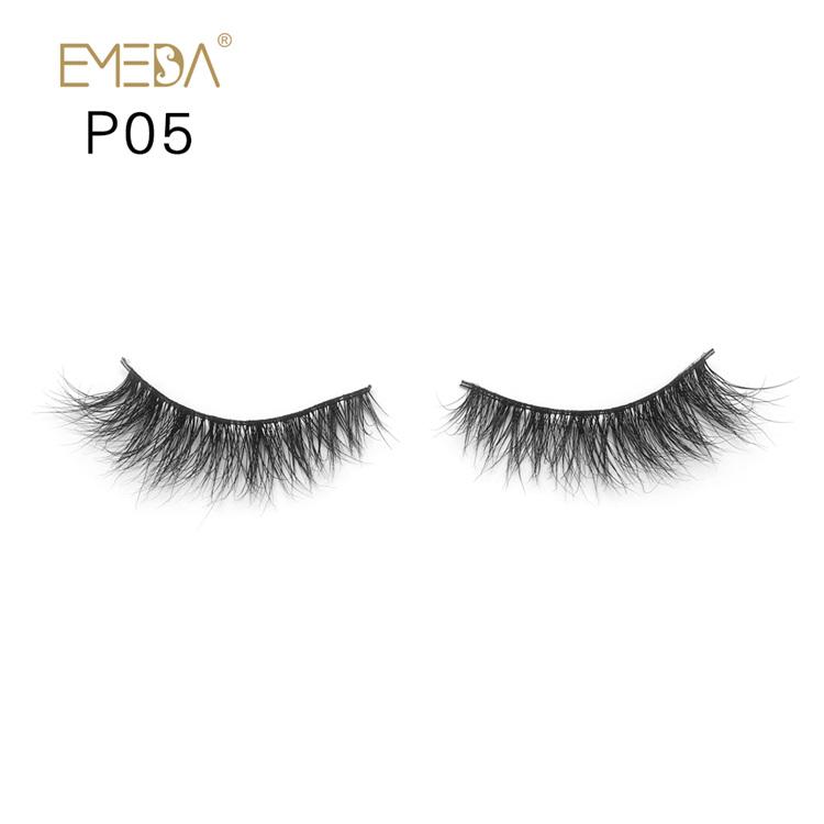 ad2aa1c154e 3D Mink Eyelashes Vendors,Wholesale Individual Mink Fur Lash Supplies YH005