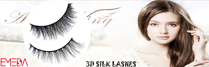 3D silk false eyelashes