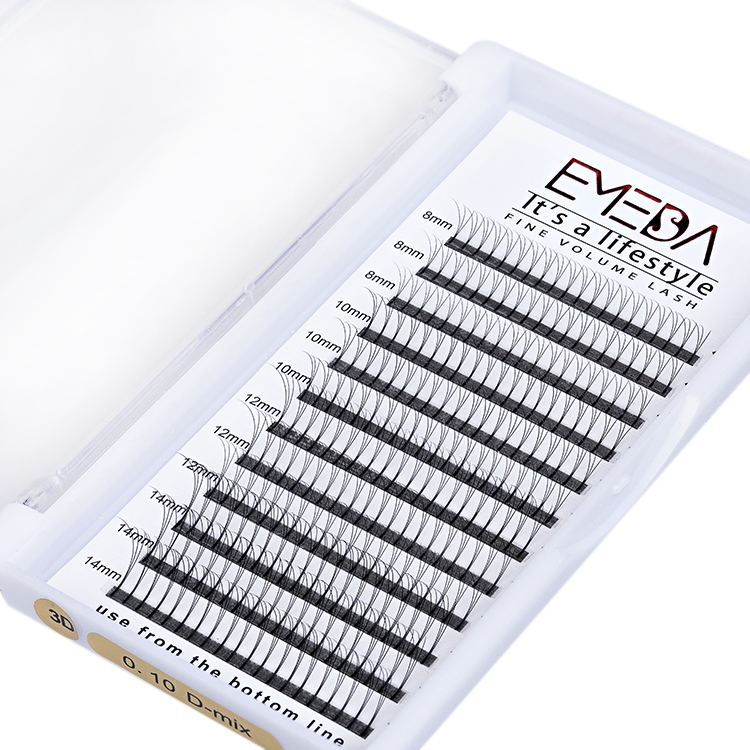 Best selling 2D-20D premade fans eyelash extension best lash extensions vendor  UK YL71