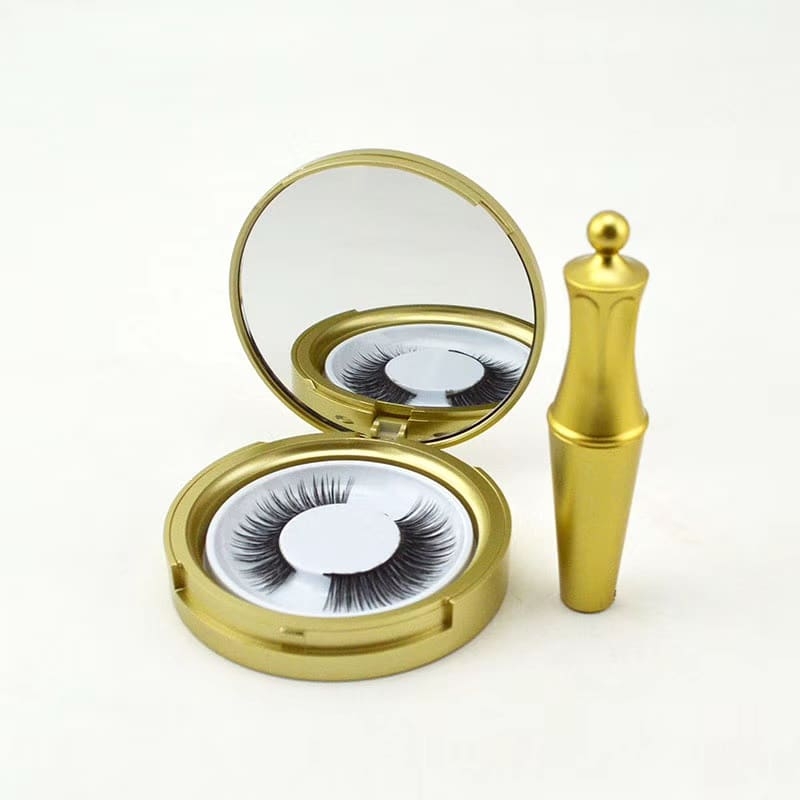 Factory Price 3D Silk Lashes Magnetic Eyelash with Magnetic Eyeliner Vendor ZX02
