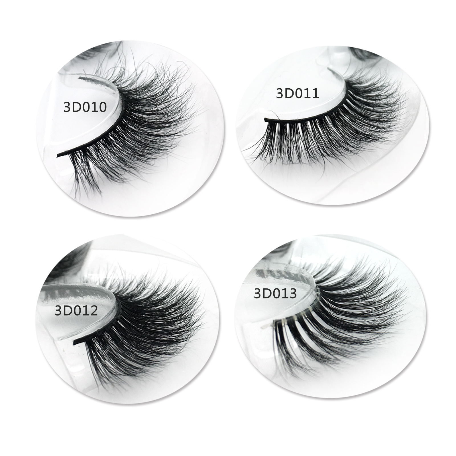 Best Eyelash Supplier Sell Premium 3D Real Mink Fur Strip Eyelashes with Customized Box in the US  YY79