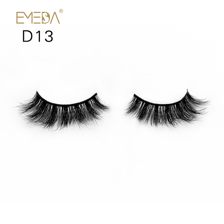 3D Mink Eyelashes Vendor Wholesale,Individual Strips Mink Eyelash Private Label YH023