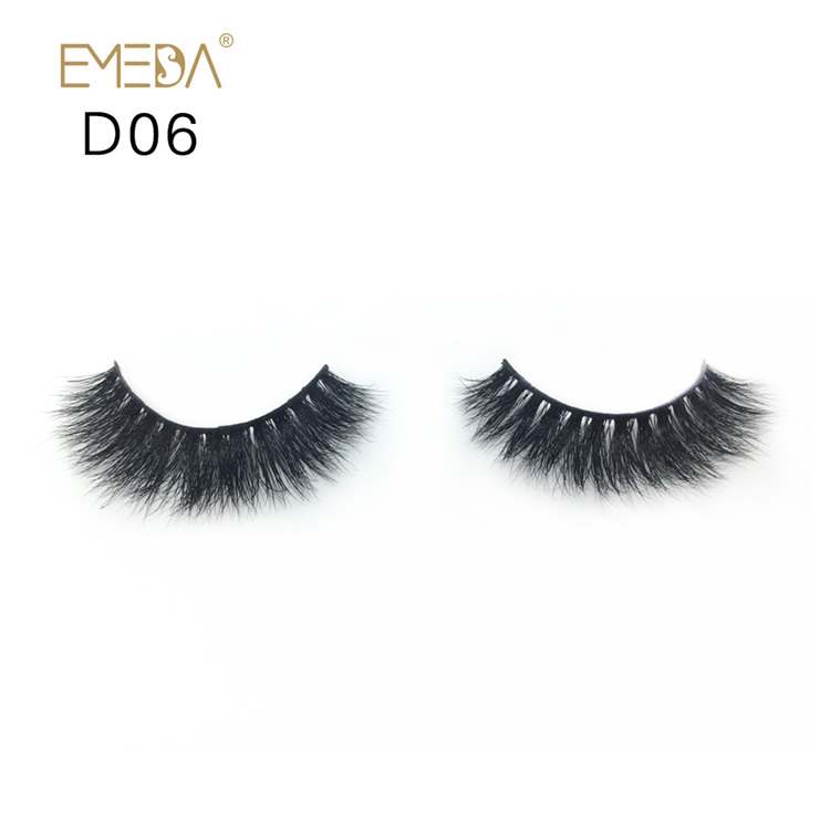 Strips Mink Eyelashes Vendor,3D Cratfs Siberian Mink Hair Eyelash YH016