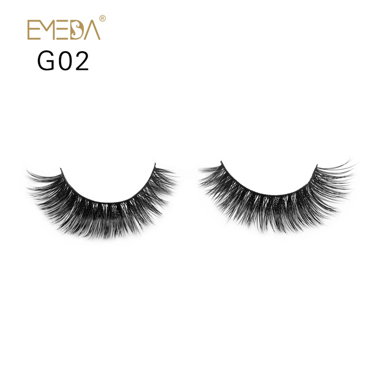 Mink Eyelashes,3D Strips Mink Eyelash On Wholesale Mink Lash YH027