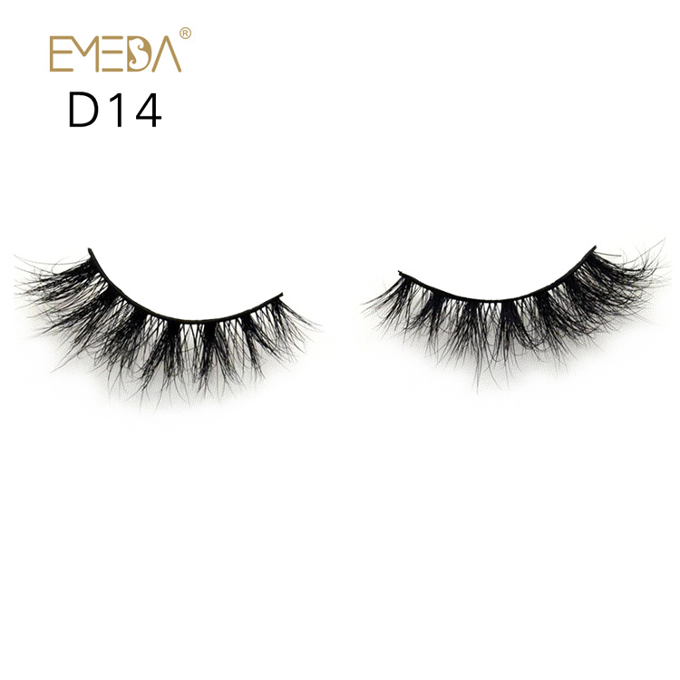 Wholesale 3D Mink Eyelashes Supplies,Individual Mink Eyelash Strips Lashes YH024