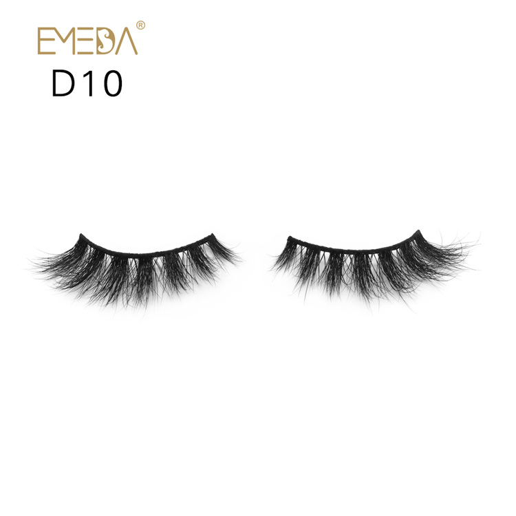 3D Mink Fur Eyelashes,High Quality Individual Mink Eyelash Private Label Supplies YH020