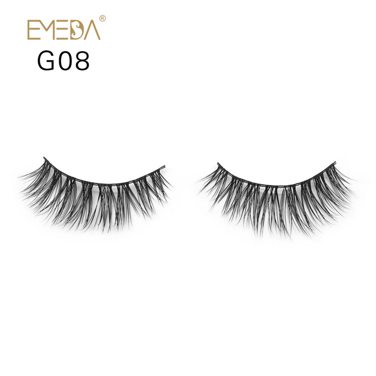Wholesale Natural Looking 3D Mink Eyelashes Y-8