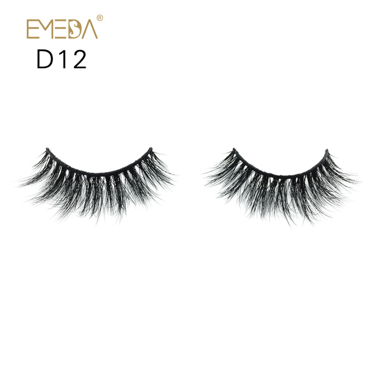 Wholesale Mink Eyelashes,3D Real Mink Fur Eyelash Vendor YH022