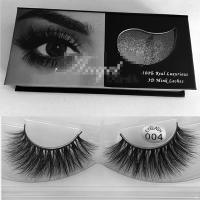 Premium quality 3D real mink eyelashes S95