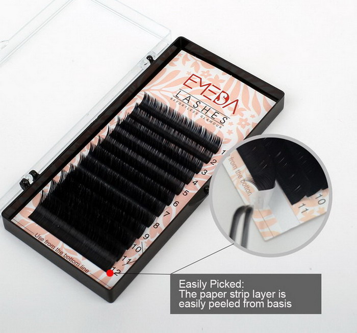 Black Pearl Affordable Eyelash Extensions Sn115 Emeda Eyelash