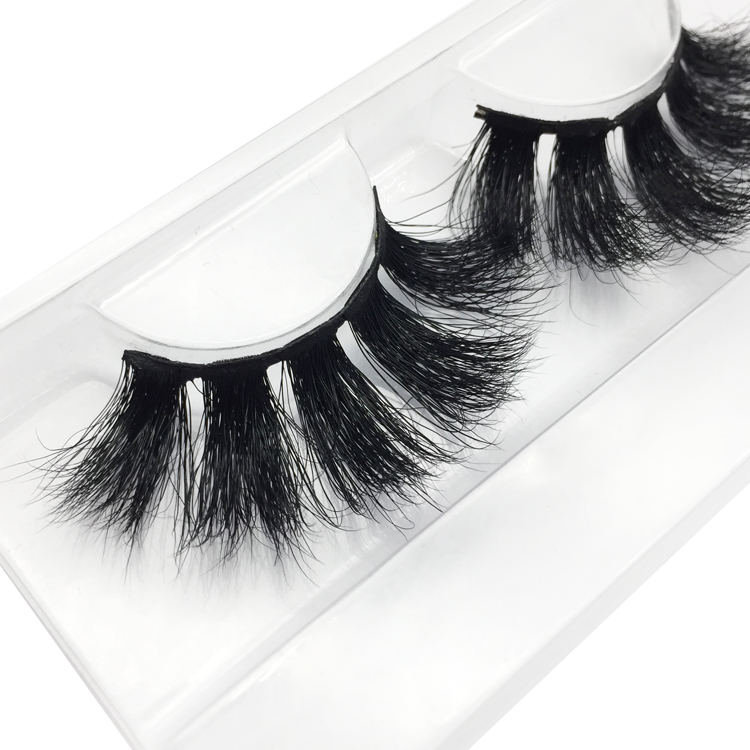 Inquiry 25mm 3D Mink Strip Lashes Wholesale Price JN23