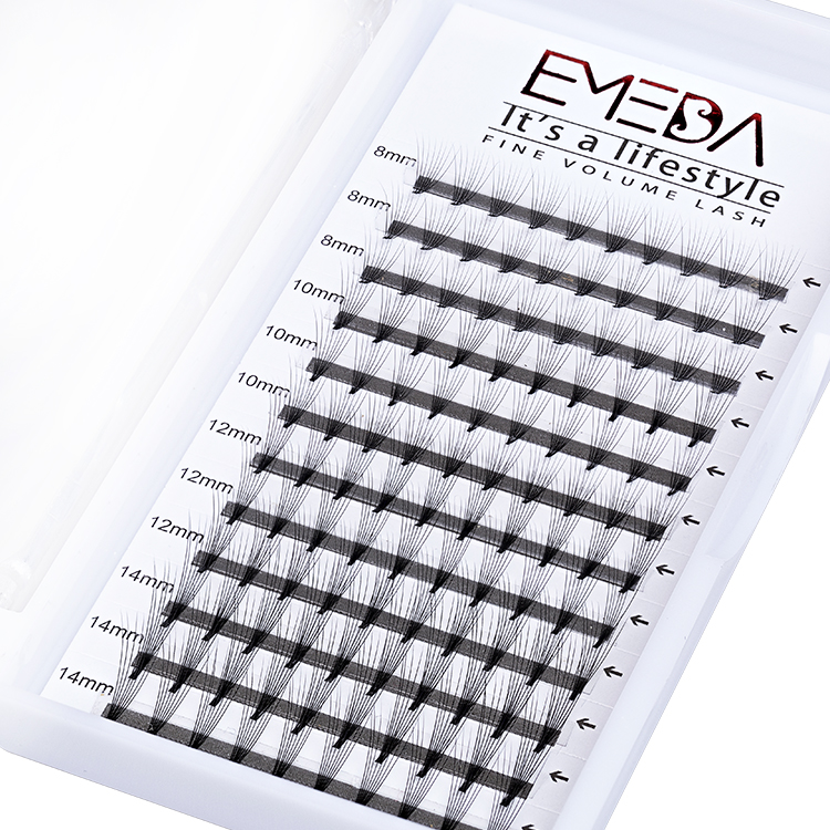 Inquiry For 8D Top Quality Pre-made Fans Eyelash Extension Vendors With Factory Wholesale Price Cluster Eyelashes  YL41