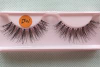 luxury human hair lashes  L118