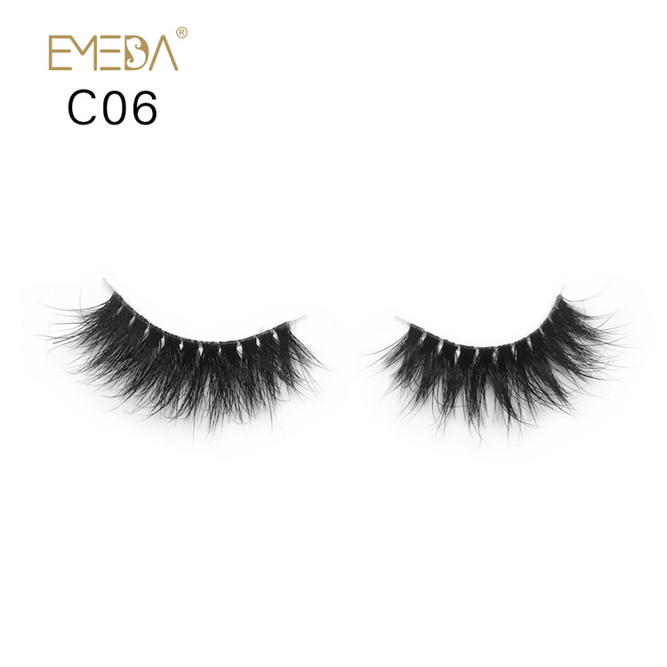 Permanent Long Real Fur 3d Mink Eyelashes Y-PY1