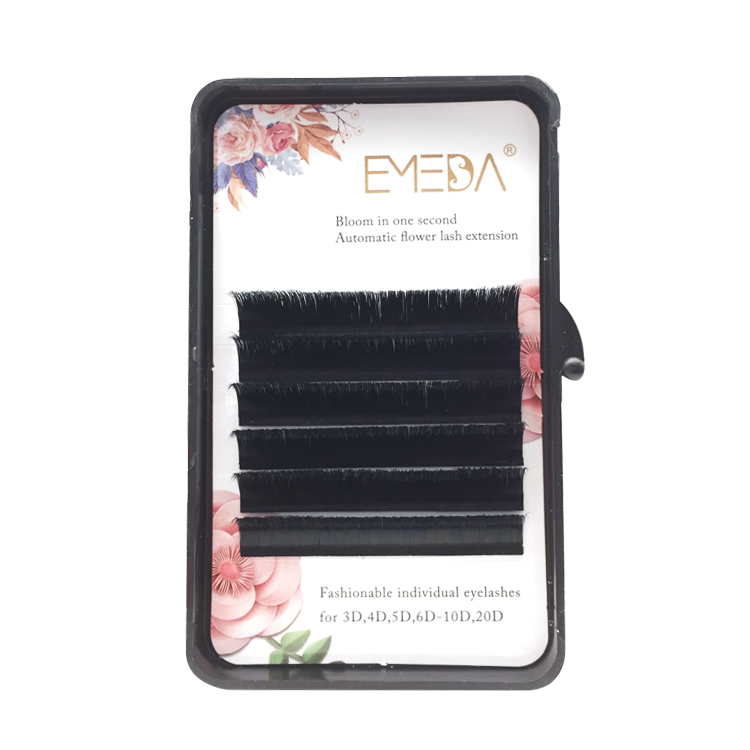 Professional automatic flower blooming volume eyelash extension vendor with factory wholesale price UK YL51