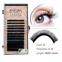 Dense Single faux mink lashes extension JH67