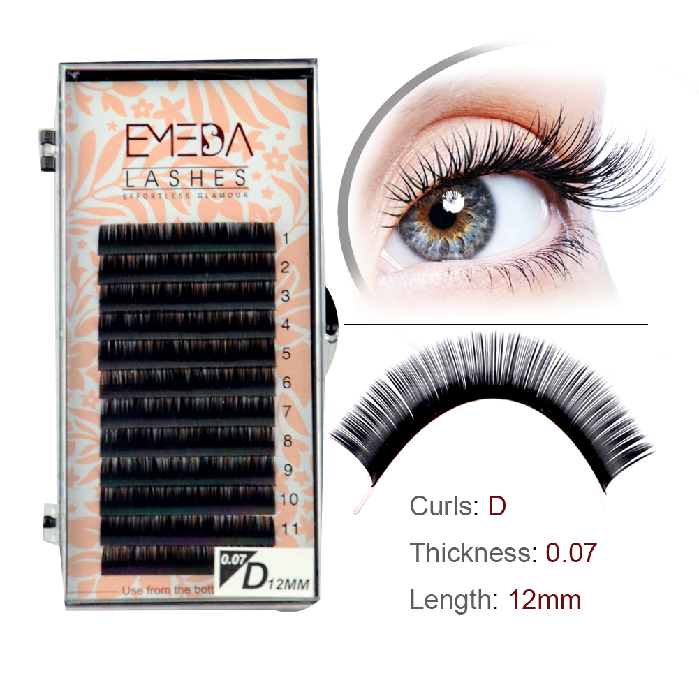 Competitive price synthetic lash extensions SN04