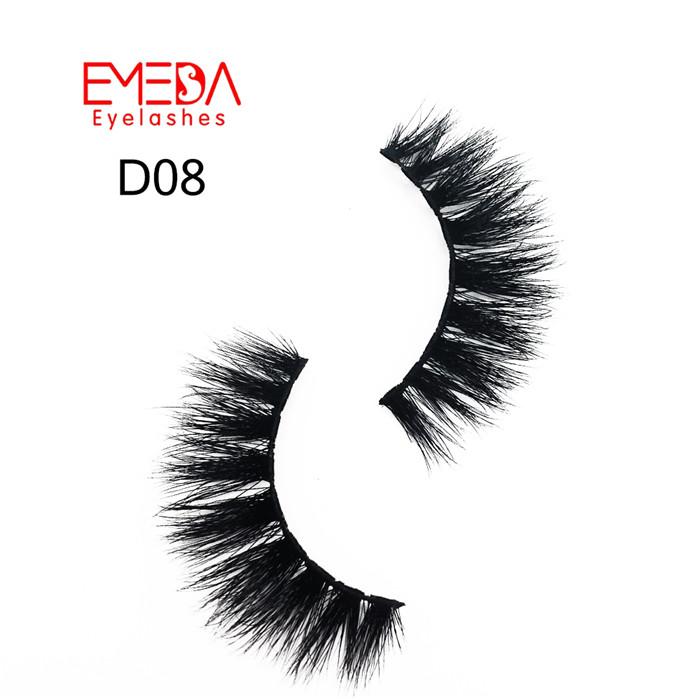 Premium 3d mink fur eyelashes USA JH038-PY1 - Emeda eyelash