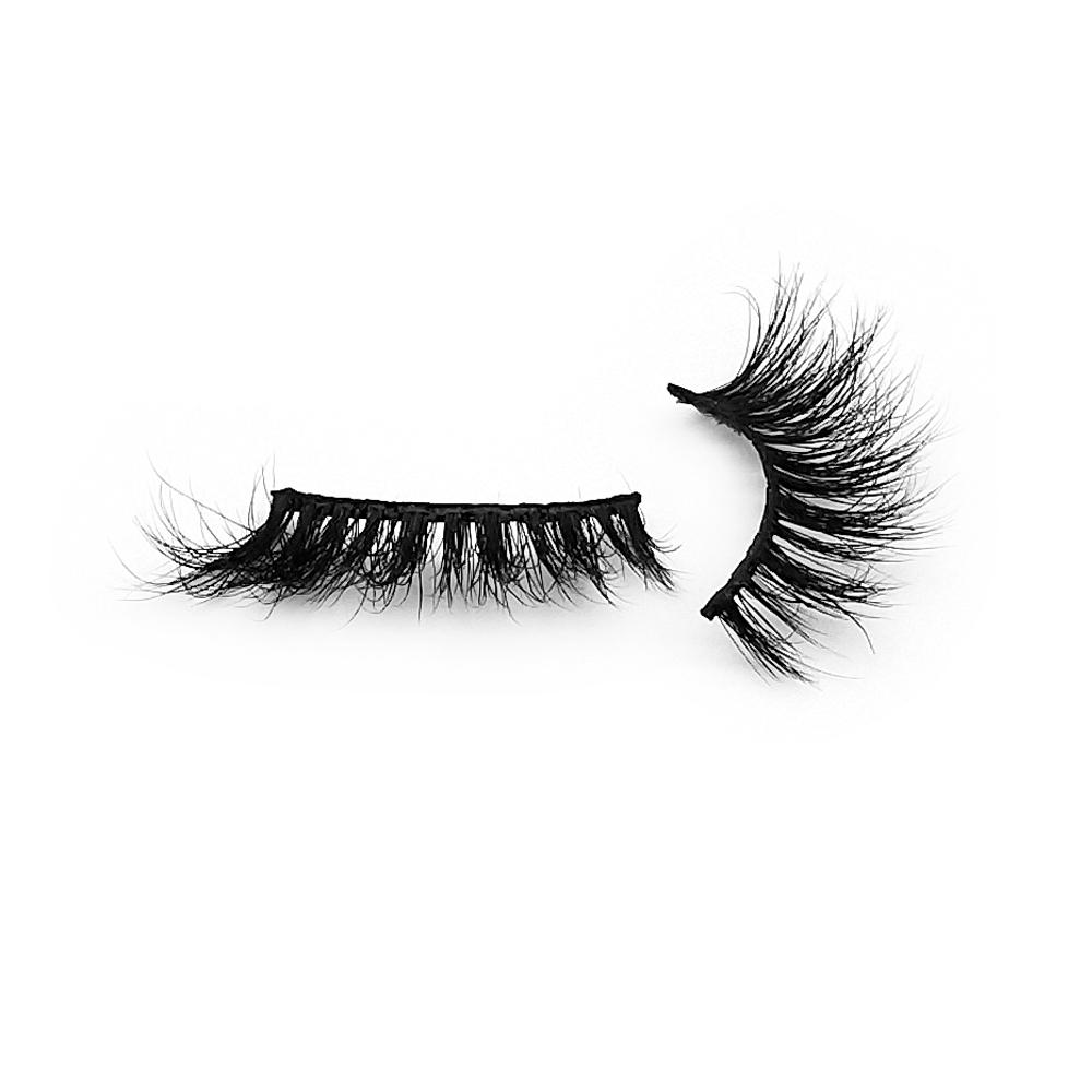 Inquiry for wholesale New 3d mink lashes small lash natural looks style 15mm 20mm short mink lashes super soft band real mink with custom package lash box in UK and in Mid-east Market XJ33