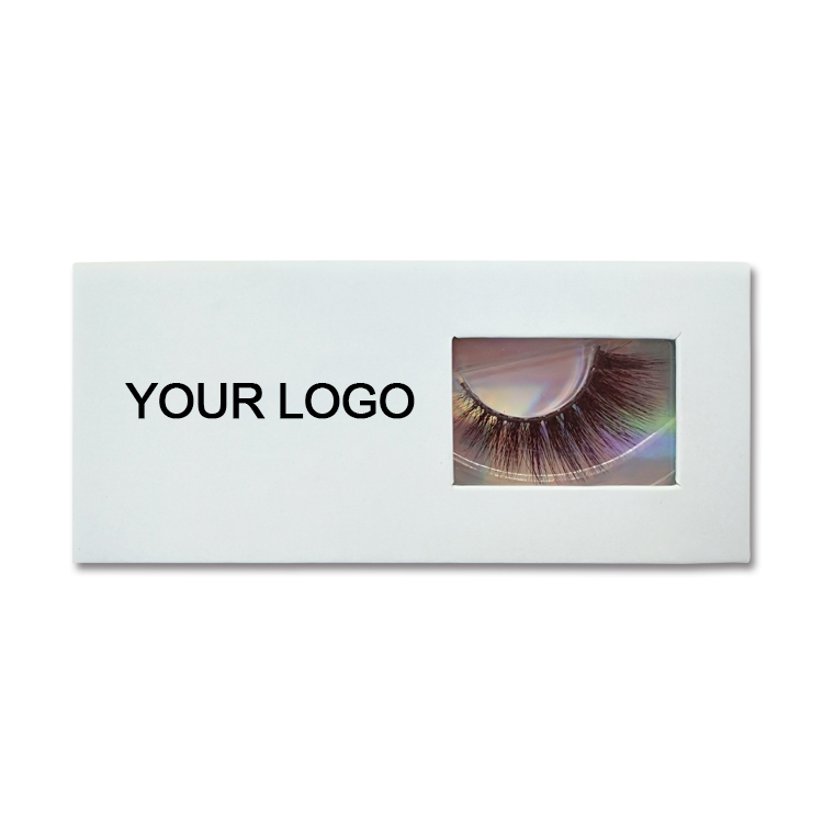 Customized Package With Your Brand Name Private Labels Eyelash Boxes YL07