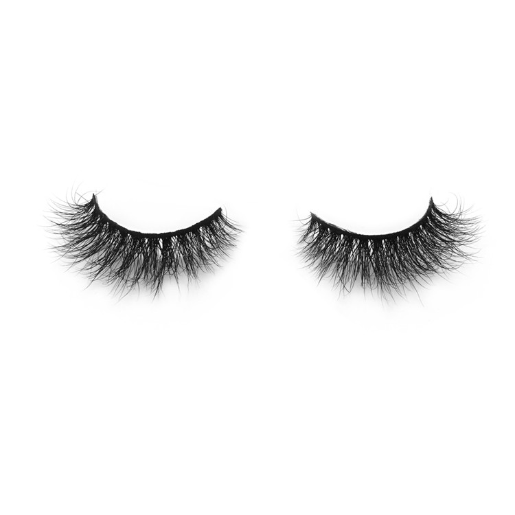 a4c9c741d2e 3D Mink lashes 100% Siberian Mink Fur False Eyelashes Natural Layered  Effect Hand Made Strips