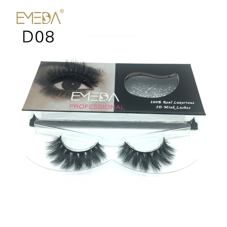 Private Label 100% Mink Fur Eyelashes YP-PY1