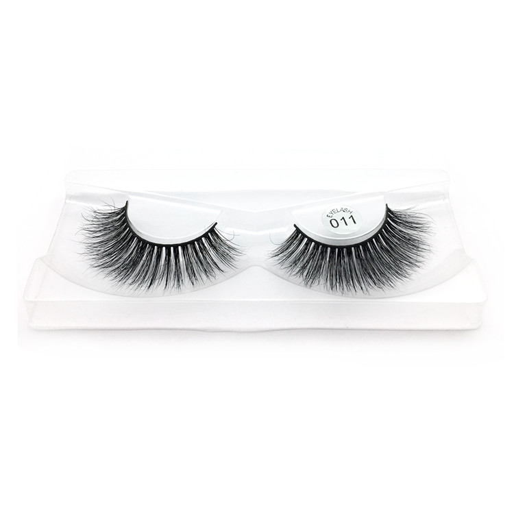 Gorgeous 3D mink eyelashes with custom packageYP