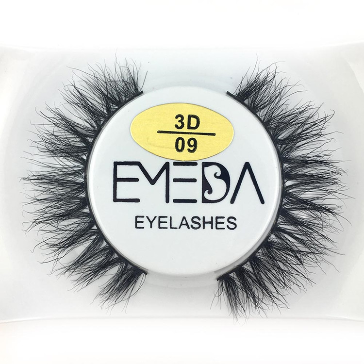 EMEDA Real Natrual Mink 3D False Eyelashes Y-PY1