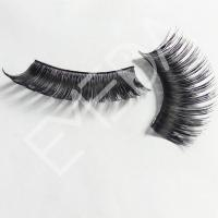 Human Hair Colored False Eyelashes SD032
