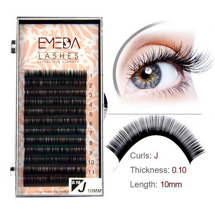 a9fbaf0ae4a Single Soft silk lashes extension supplier JH88 - Emeda eyelash
