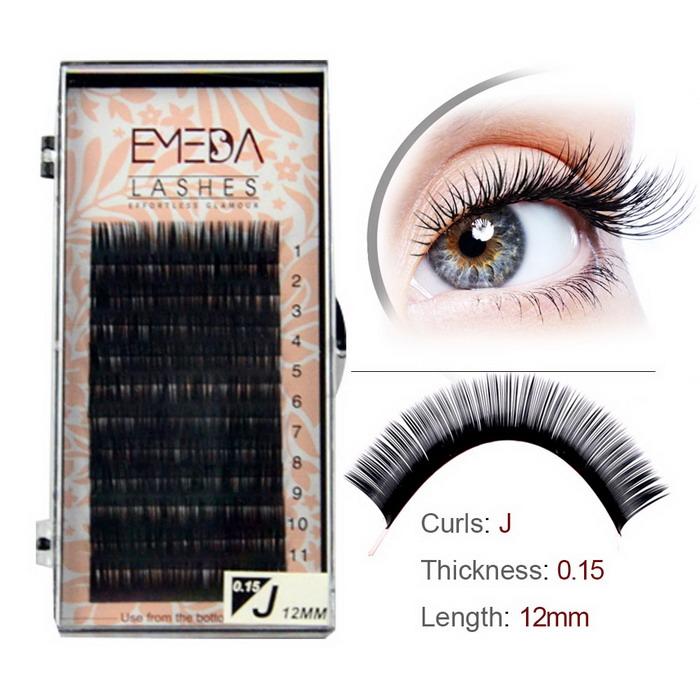 c3681b1da6b Wholesale Silk Mink single Eyelash Extensions SN-PY1 - Emeda eyelash
