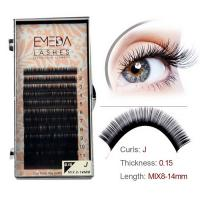 Hotsale silk lashes extension individual eyelash SN148