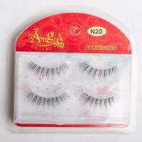 Emeda eyelashes 100% Human Hair False Eyelashes Natural...
