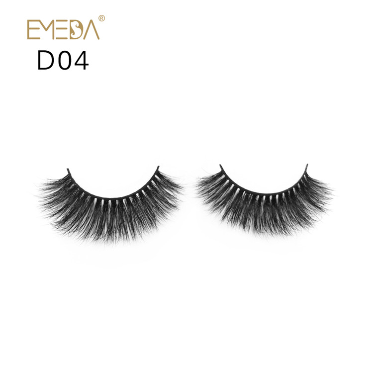 3D Strip Mink Fur Eyelash Supplier JH-PY1