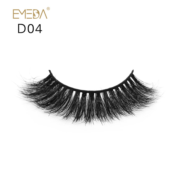 Luxury 3D mink eyelash wispy lashes factory JH-PY1