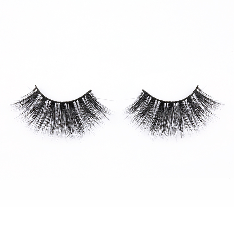 Fast Delivery Wholesale Price Real Mink Fur 25mm Strip Lashes Dramatic and Attractive 25mm Eyelashes YY123